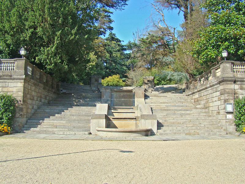 Rennes : le Thabor, le jardin paysager